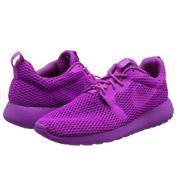骚亮紫!Nike耐克Roshe One Hyperfuse Br女士跑鞋