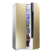降价!Hisense海信BCD-565WT/B 565升L风冷无霜(金色)对开门冰箱