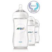 AVENT新安怡SCF696/37 Natural系列PP奶瓶320ml*3个