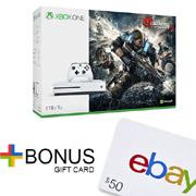 Microsoft微软Xbox One S 1TB游戏主机+凑单