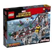LEGO乐高超级英雄系列76057大桥决战