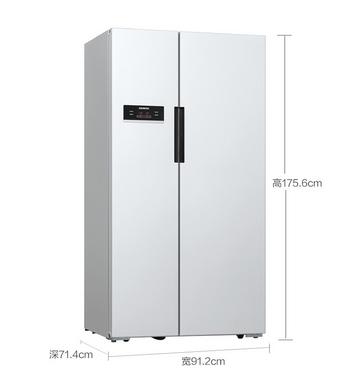 SIEMENS西门子 BCD-610W(KA92NV02TI)610升对开门冰箱