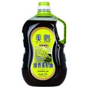美临 非转基因5L浓香菜籽油