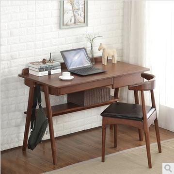 明佳友 SZ01北欧实木书桌