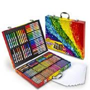 限Prime会员&试用会员!Crayola 绘儿乐 创意展现艺术珍藏礼盒140件套装版*2套
