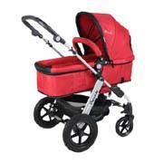 Pouch P68精英版避震免充气轮平躺双向婴儿手推车