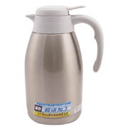 Tiger虎牌 不锈钢便携式热水瓶PWL-A16C-XW珍珠白1.6L