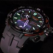 CASIO卡西欧PRW-6000SYT-1CR 6局电波太阳能钛金腕表