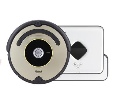 美国iRobot艾罗伯特 扫擦机器人组合套餐528+381