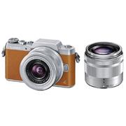 限Prime会员&试用会员!Panasonic松下Lumix DMC-GF7W-T双镜头微单套机(12-32mm+35-100mm)
