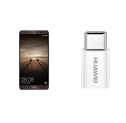 限量抢!HUAWEI华为Mate 9 4GB+64GB全网通4G手机+TypeC转接头