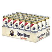 Benedikeiner百帝王 德国原装进口小麦啤酒500ml*24听