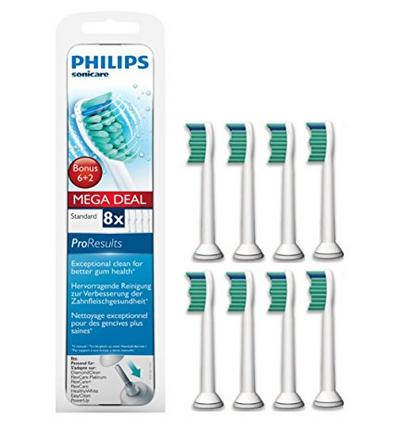 限Prime会员或试用会员!Philips飞利浦HX6018/HX6017原装牙刷刷头8支