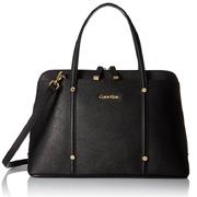 Calvin Klein卡尔文克莱恩Saffiano Mini Dome女士手提斜挎包