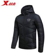XTEP特步984429190544轻便运动羽绒棉服外套