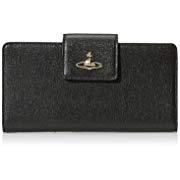Vivienne Westwood女式钱包SAFFIANO 51040014-40153 NAPPA BLACK VW51040014SFO02D2 黑色 190*10*110mm+凑单