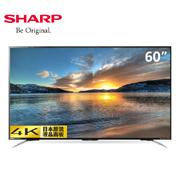 惊爆价!Sharp夏普LCD-60MY5100A 60英寸4K网络智能液晶电视
